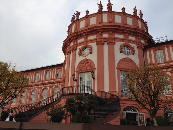Schloss Biebrich in Wiesbaden am Rhein