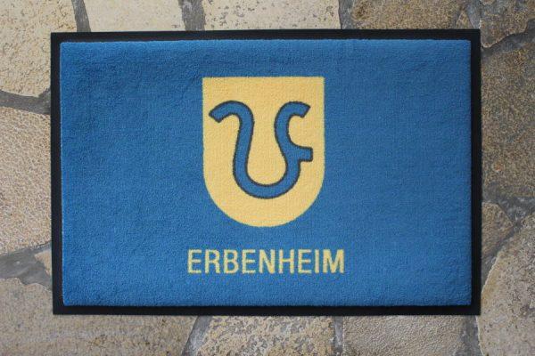 Wiesbaden Erbenheim Wappen Vorort Fußmatte