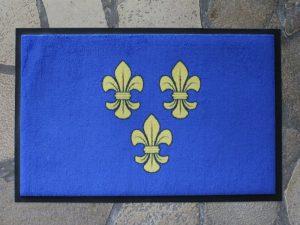 Wiesbaden Lilien Fußmatten Wappen